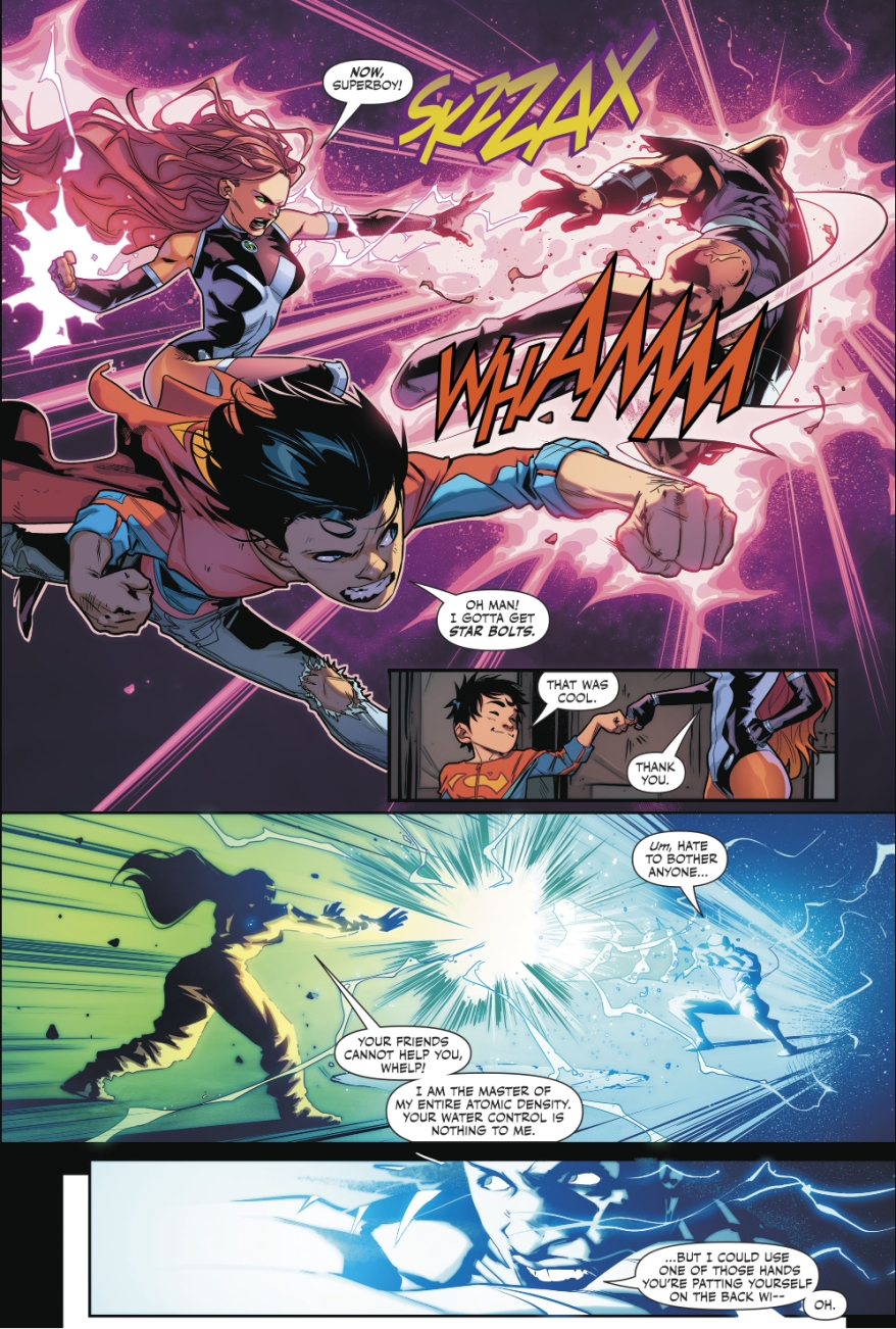 Teen Titans VS Kraklow (Rebirth)
