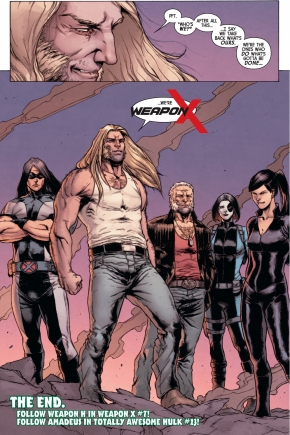 Weapon X (Totally Awesome Hulk #22)