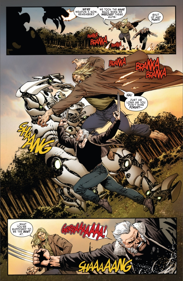 Weapon X VS Adamantium Cyborgs