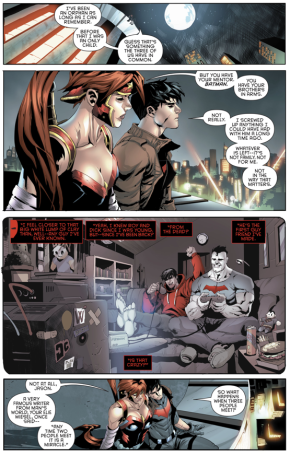 What Bizarro Means To Red Hood And Artemis