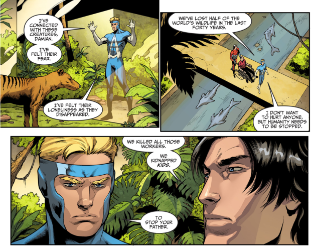 Why Animal Man Joined Ra's Al Ghul's Side (Injustice II)