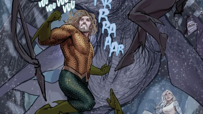 Aquaman And Dolphin (Aquaman Vol 8 #27)