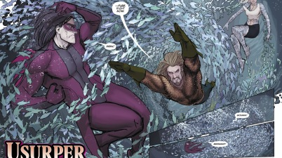 Aquaman And Dolphin VS Kadaver