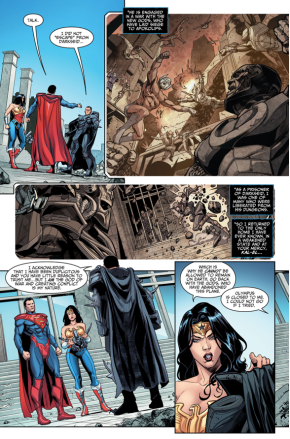 Ares Joins Superman's Regime (Injustice Gods Among Us)