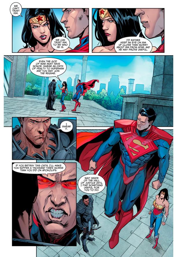 Ares Joins Superman's Regime (Injustice Gods Among Us)