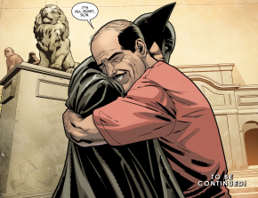 Batman And Alfred Pennyworth Reunites (Injustice II)