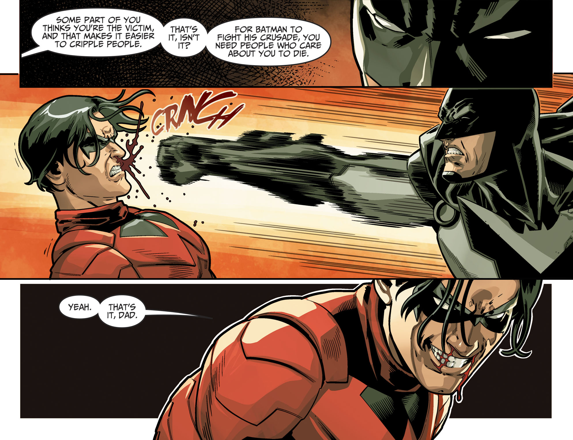Batman VS Nightwing (Injustice II) | Comicnewbies Nightwing Injustice Comic