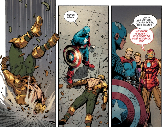 Captain America VS Hydra Supreme