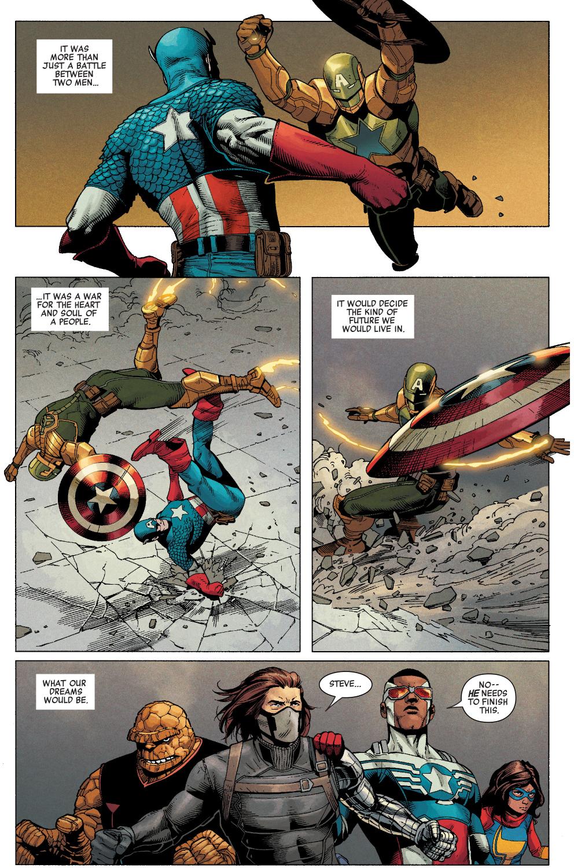 Captain America VS Hydra Supreme – Comicnewbies