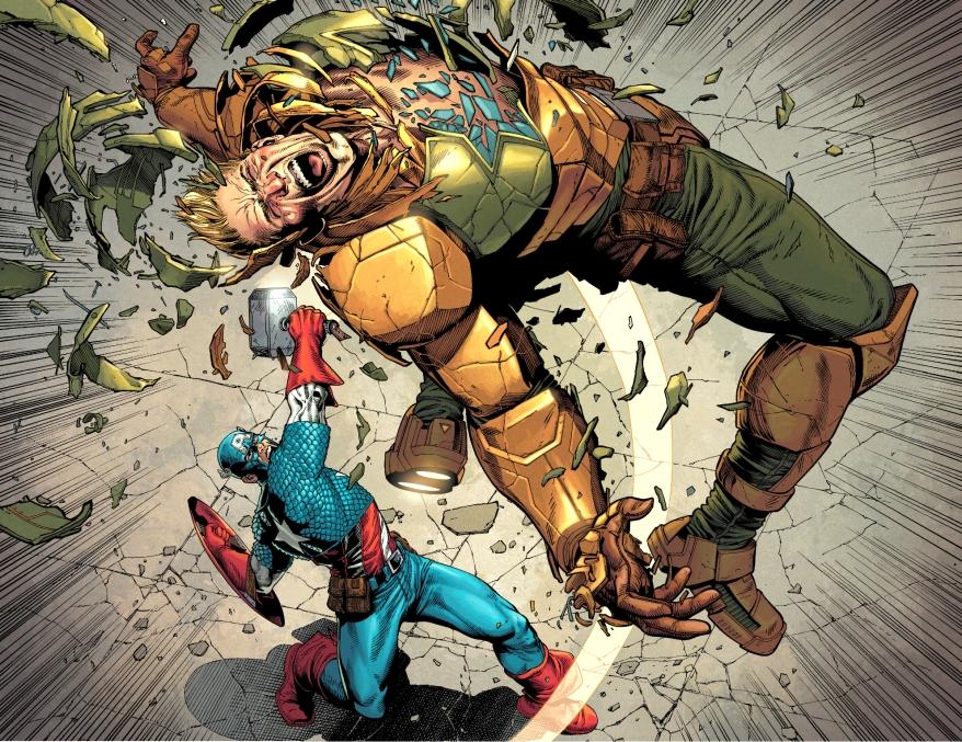 Captain America VS Hydra Supreme