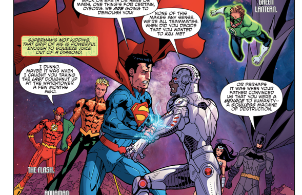 Cyborg Dreams About Fighting The Justice League