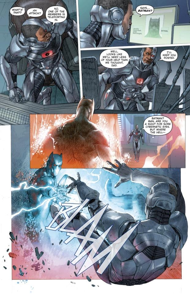 Cyborg VS The Murder Machnie