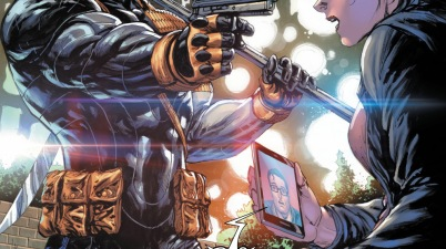 Deathstroke Shoots Lois Lane