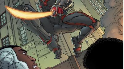 Fyrewyre (Cyborg Vol. 2 #13)