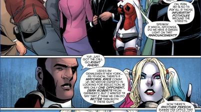 Harley Quinn To Run As Mayor Of New York