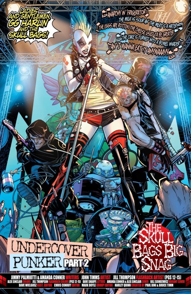 Harley Quinn's Punk Rock Band