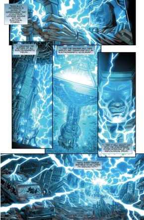 How Black Lightning Cleared Metropolis Of Radiation