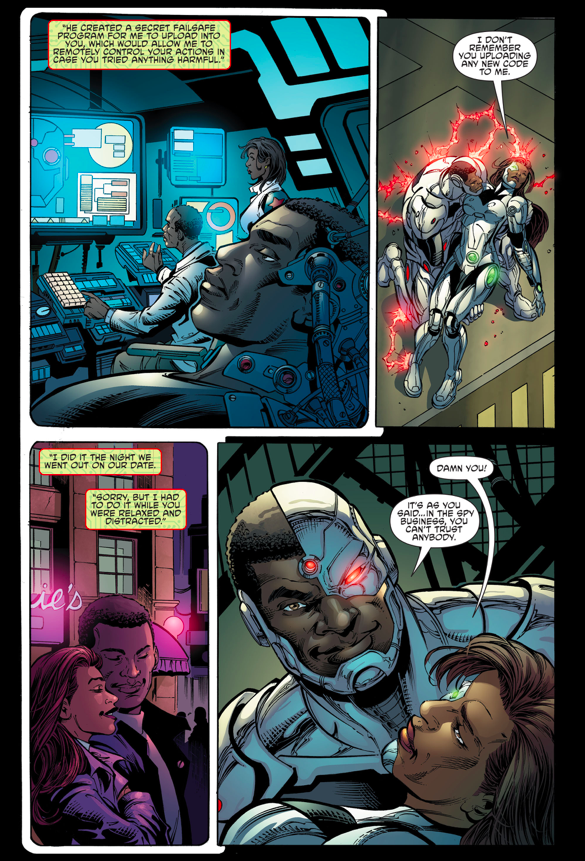 How Cyborg Defeated Variant