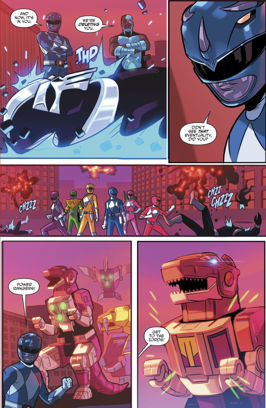 How The Justice League And Power Rangers Defeated Brainiac