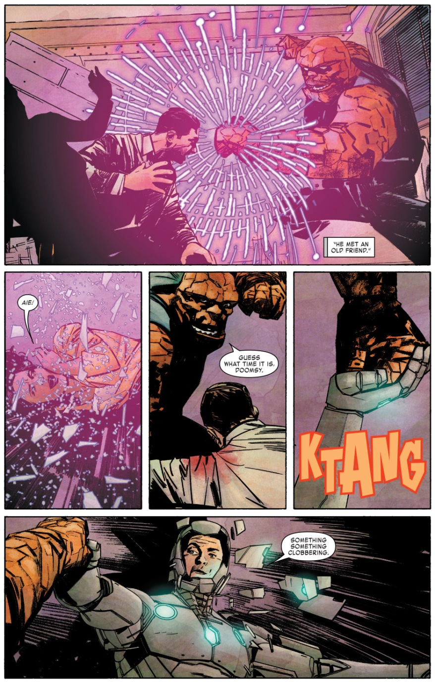 Infamous Iron Man VS The Thing