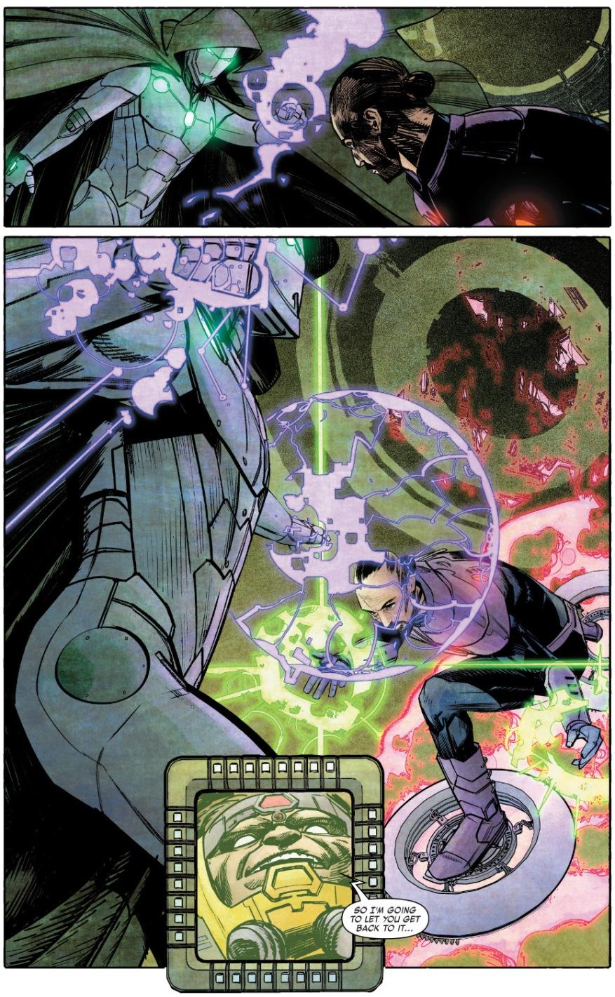 Infamous Iron Man VS Wizard