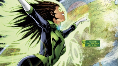 Jessica Cruz And Simon Baz (Green Lanterns Vol 1 #31)
