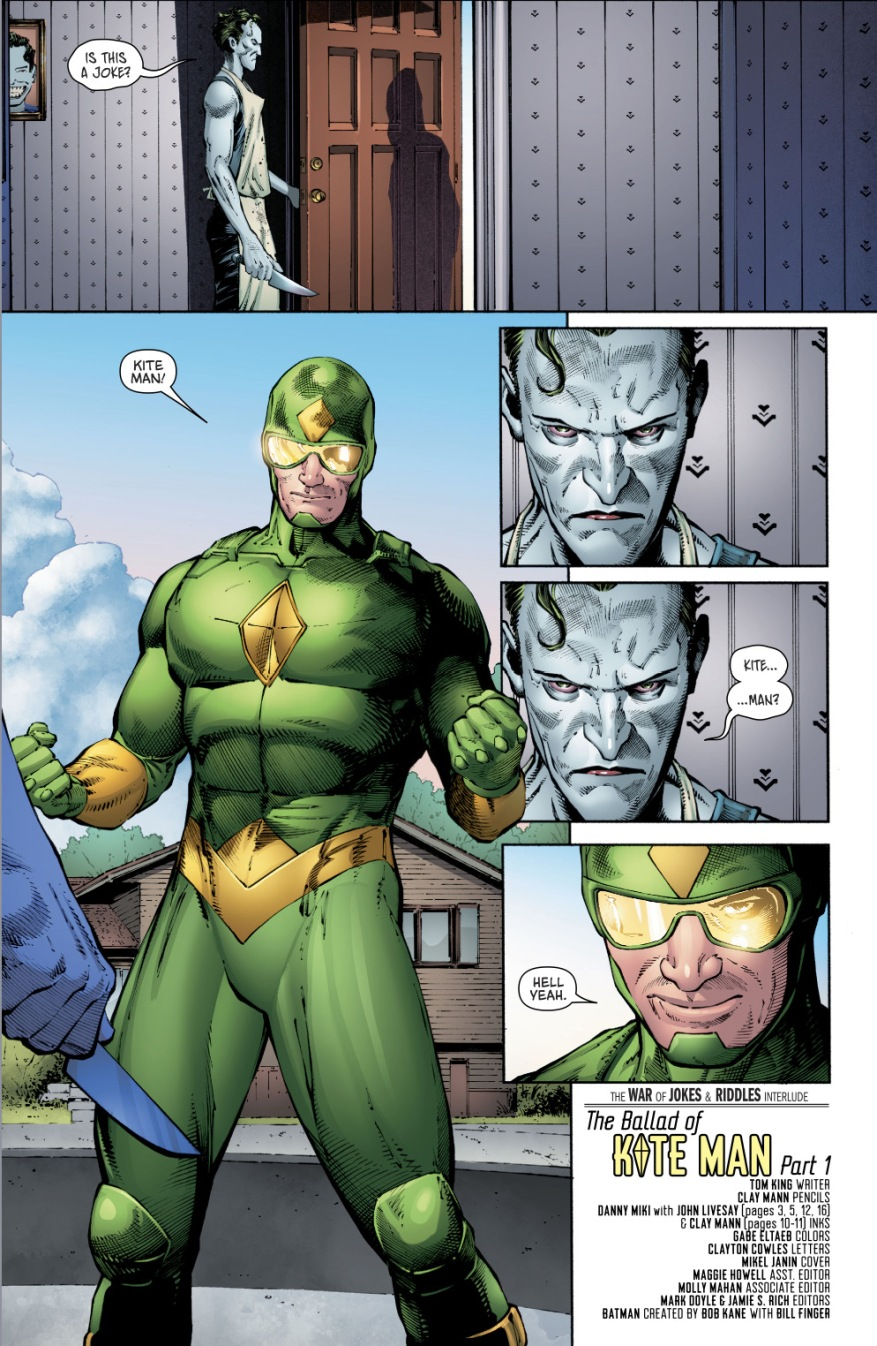 Kite-Man's Origin Story