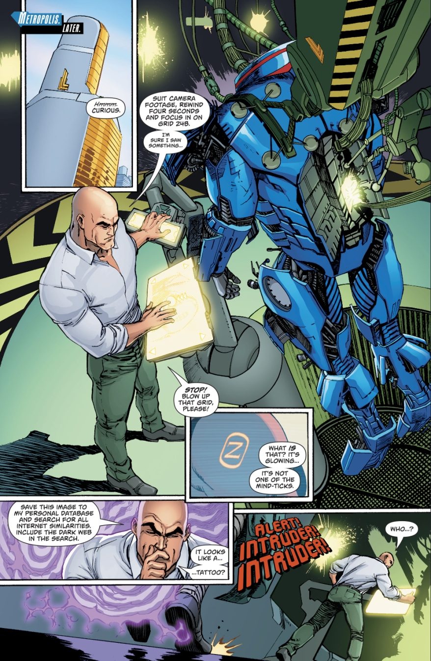 Lex Luthor Meets Mr Oz