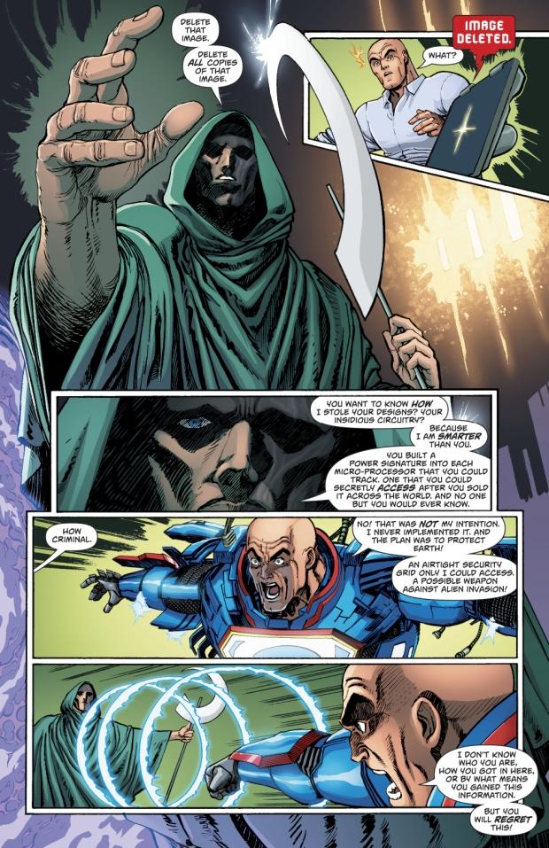 Lex Luthor Meets Mr Oz