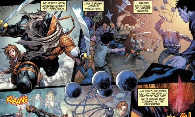 Lois Lane Describes Deathstroke (Rebirth)