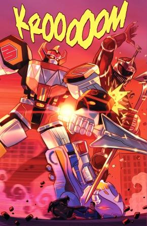 Megazord VS Lord Zedd