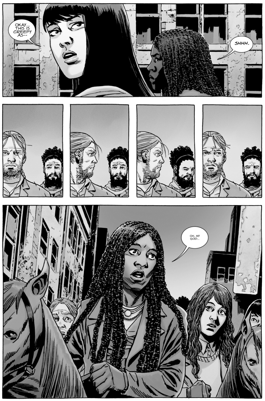 Michonne's Group Enters Pittsburgh (The Walking Dead)