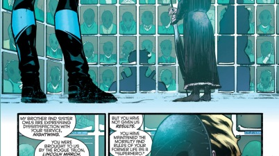 Nightwing Working For The Parliament Of Owls