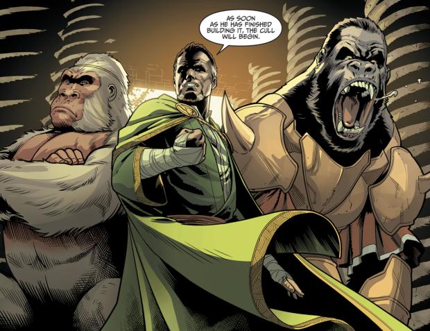 Ra's Al Ghul, Solovar And Gorilla Grodd (Injustice II