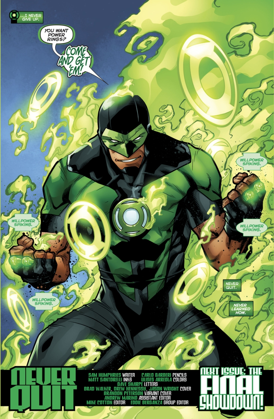 Simon Baz Earns 4 Green Lantern Rings