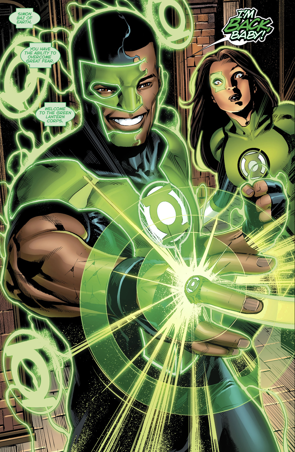 The Original Rider Waite Deck By Arthur Edward Waite: Simon Baz Earns An Original 7 Green Lantern Ring