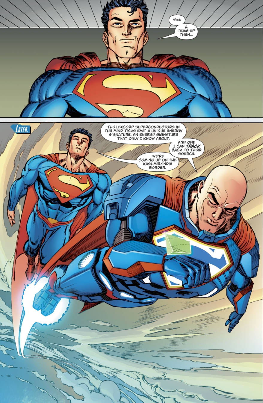 Superman And Lex Luthor (Action Comics #985)