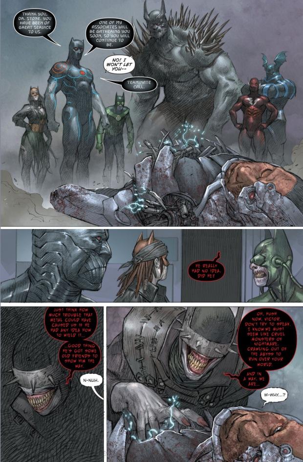 The Dark Nights Defeats Cyborg