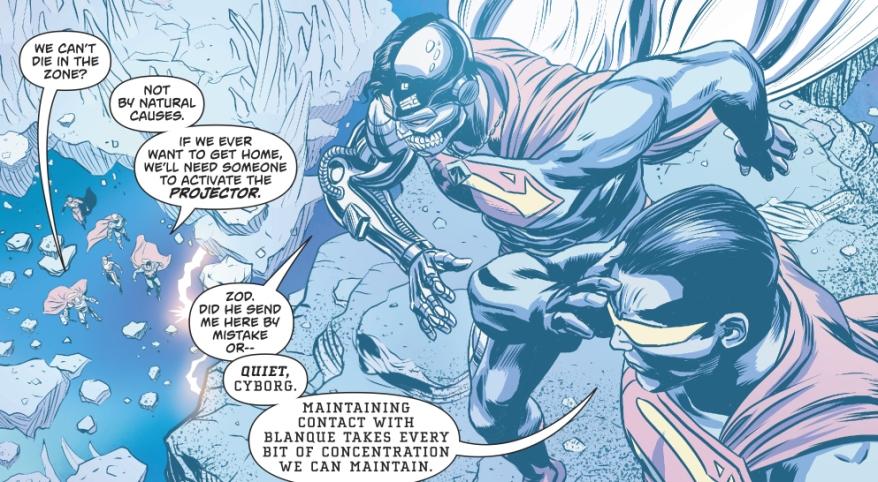 The Superman Family Inside The Phantom Zone