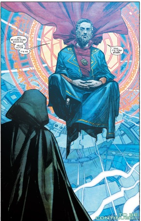 Tony Stark As Sorcerer Supreme