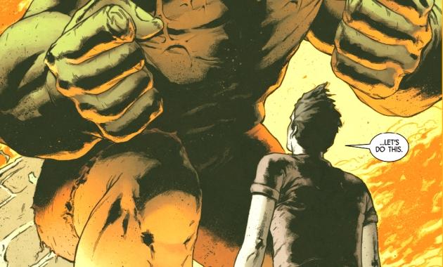 Totally Awesome Hulk VS Hulkverine