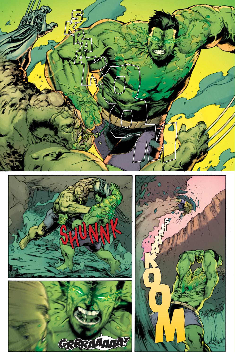 totally awesome hulk vs hulkverine comicnewbies