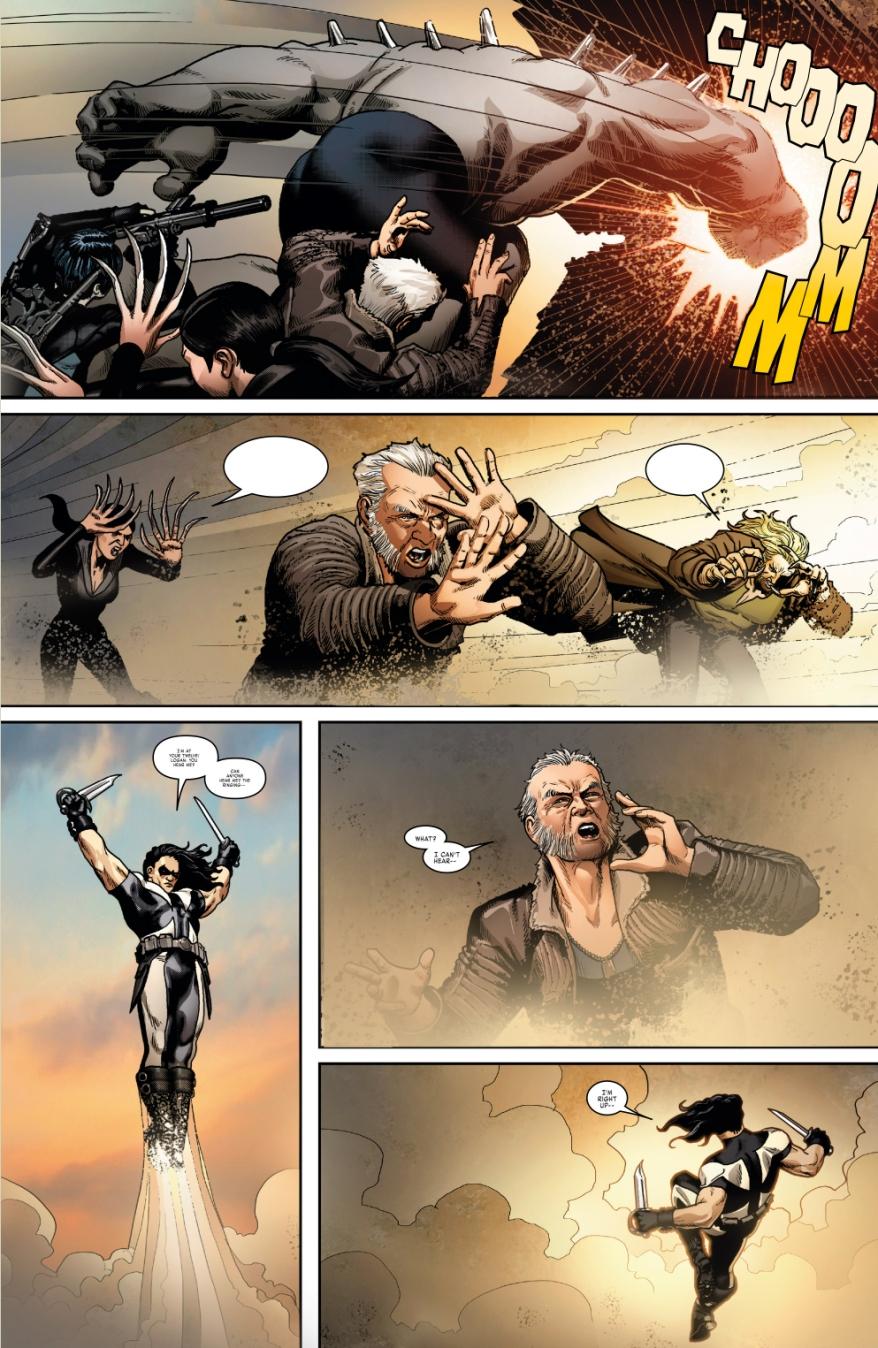 Weapon X VS Hulkverine