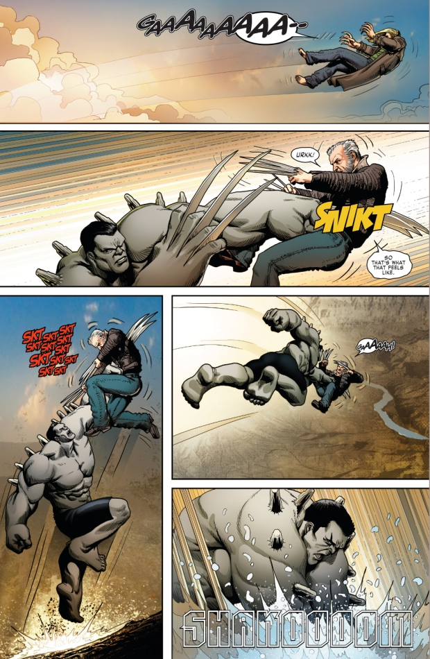 Weapon X VS Hulkverine