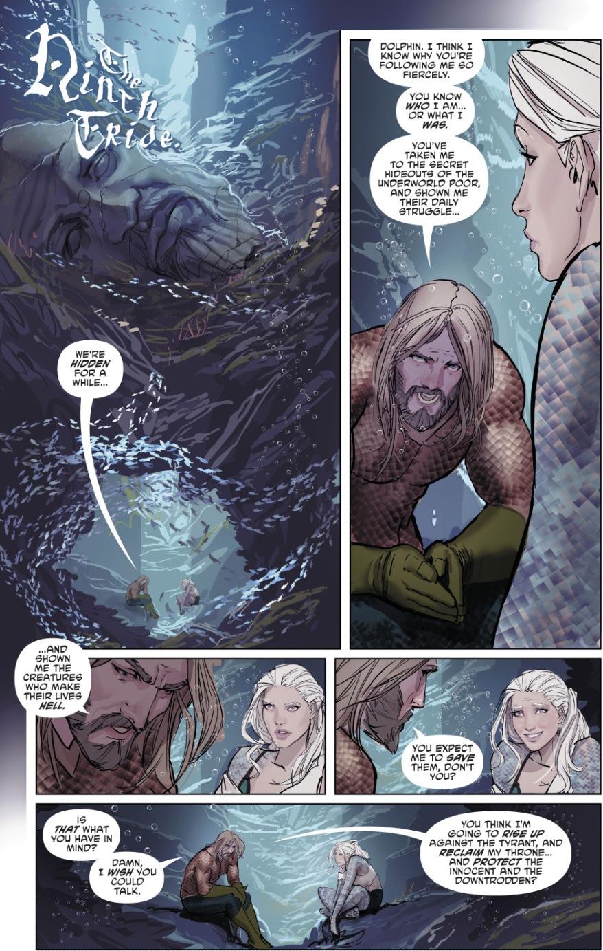 Why Aquaman Became A Vigilante