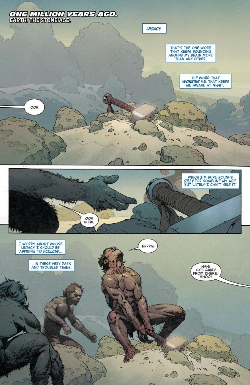 Avengers of 1,000,000 BC VS The Fallen