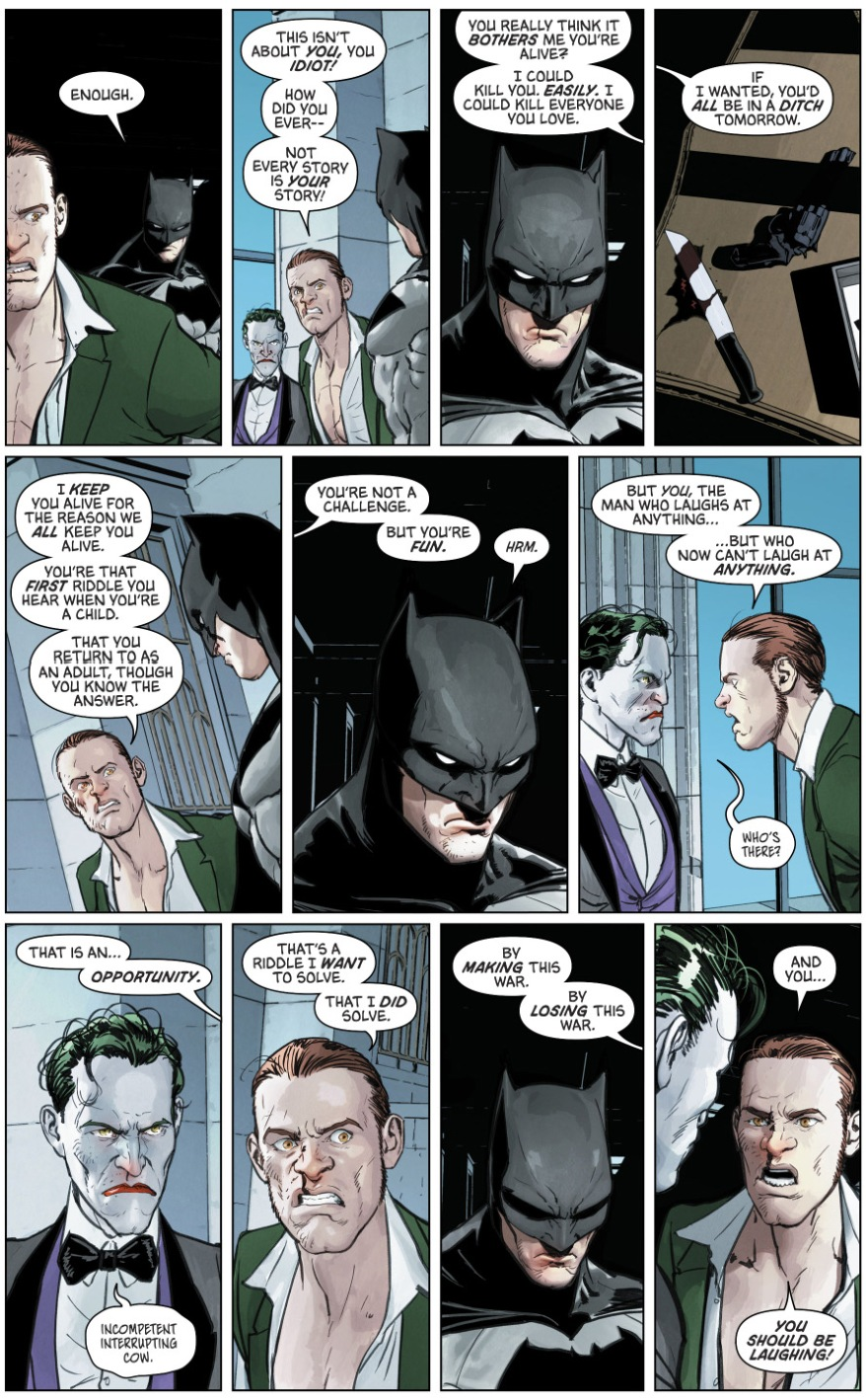 Batman Breaks His No Killing Rule