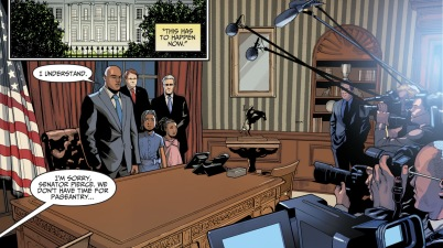 Black Lightning Becomes The President (Injustice II)