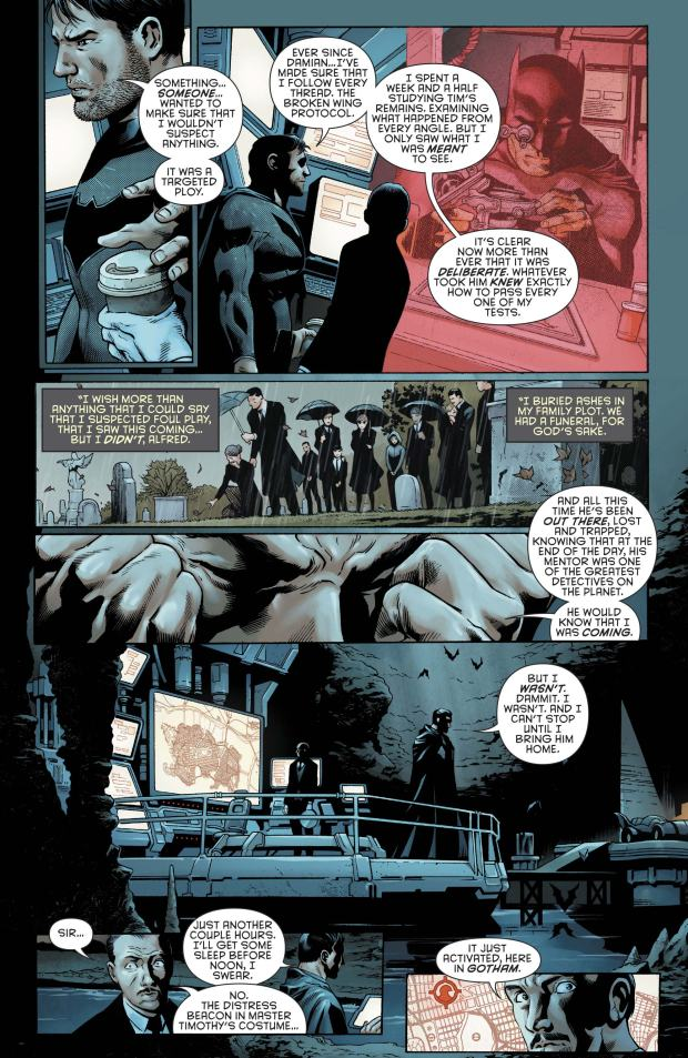 Bruce Wayne And Tim Drake's Reunion (Rebirth)