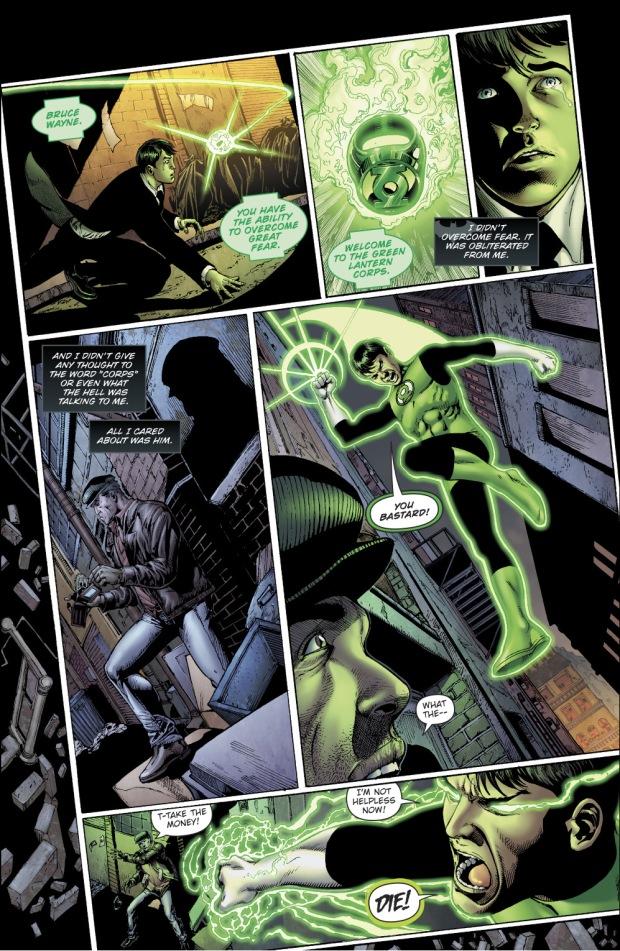 Bruce Wayne Becomes A Green Lantern (Earth - 32)